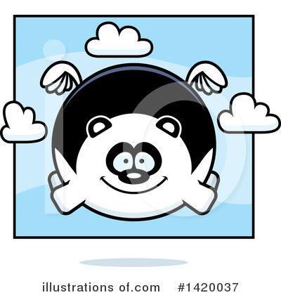 Panda Clipart #1420037 by Cory Thoman