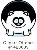 Panda Clipart #1420039 by Cory Thoman