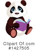 Panda Clipart #1427505 by Pushkin