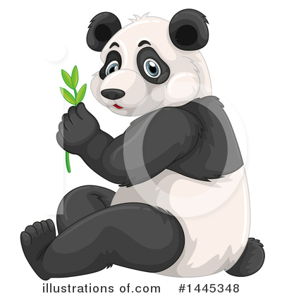 Panda Clipart #1445348 by Graphics RF