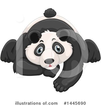 Panda Clipart #1445690 by Graphics RF