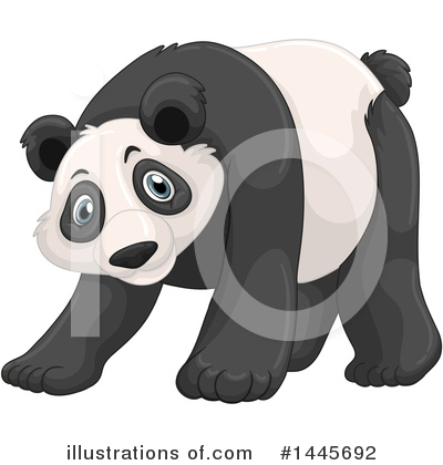 Panda Clipart #1445692 by Graphics RF