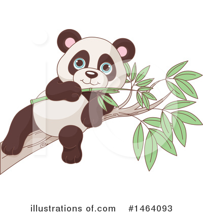 Panda Clipart #1464093 by Pushkin