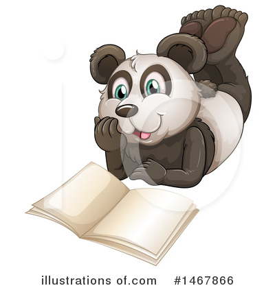 Panda Clipart #1467866 by Graphics RF