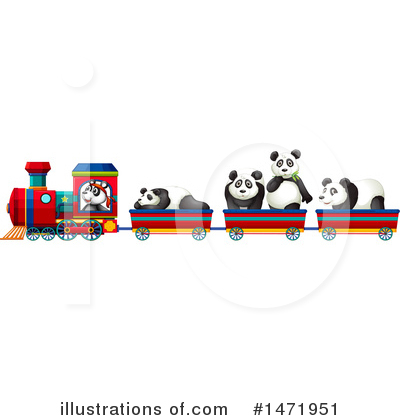 Panda Clipart #1471951 by Graphics RF