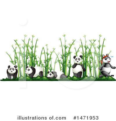 Panda Clipart #1471953 by Graphics RF