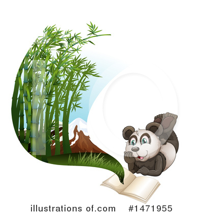 Panda Clipart #1471955 by Graphics RF