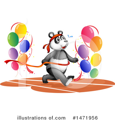 Panda Clipart #1471956 by Graphics RF