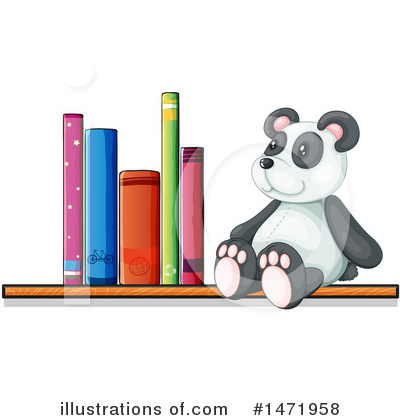 Panda Clipart #1471958 by Graphics RF