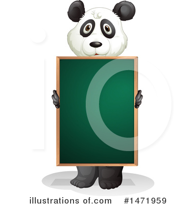 Panda Clipart #1471959 by Graphics RF