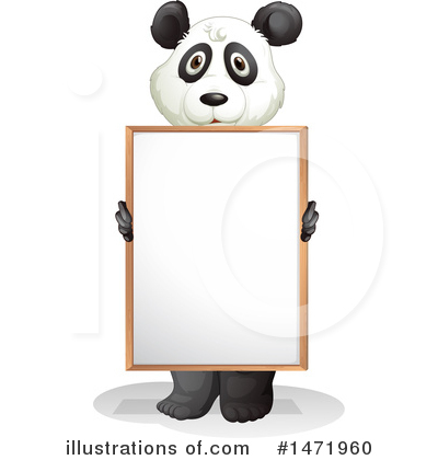 Panda Clipart #1471960 by Graphics RF