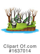 Panda Clipart #1637014 by Graphics RF