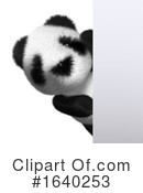 Panda Clipart #1640253 by Steve Young
