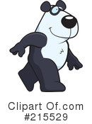 Royalty-Free (RF) Panda Clipart Illustration #215529