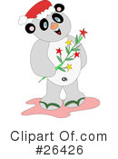 Royalty-Free (RF) Panda Clipart Illustration #26426