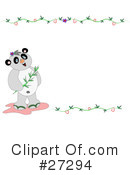 Royalty-Free (RF) Panda Clipart Illustration #27294