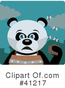 Panda Clipart #41217 by Dennis Holmes Designs