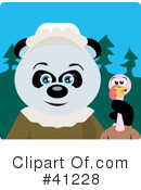 Royalty-Free (RF) Panda Clipart Illustration #41228