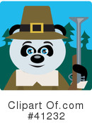 Royalty-Free (RF) Panda Clipart Illustration #41232