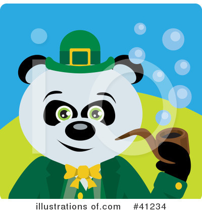 St Patricks Day Clipart #41234 by Dennis Holmes Designs