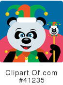 Panda Clipart #41235 by Dennis Holmes Designs