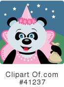 Royalty-Free (RF) Panda Clipart Illustration #41237