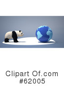 Panda Clipart #62005 by chrisroll