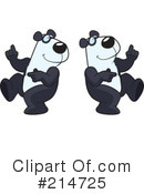 Pandas Clipart #214725 by Cory Thoman