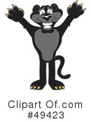 Panther Character Clipart #49423