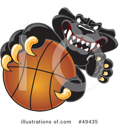 Basketball Clipart #49435 by Toons4Biz