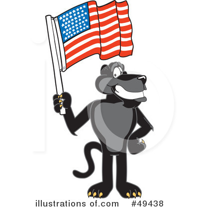 Panther School Mascot Clipart #49438 by Toons4Biz