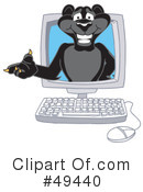 Panther Character Clipart #49440 by Toons4Biz