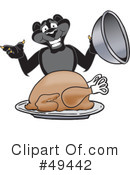 Royalty-Free (RF) panther character Clipart Illustration #49442