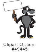 Panther Character Clipart #49445 by Toons4Biz