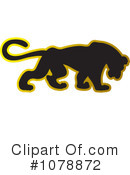Panther Clipart #1078872 by Lal Perera