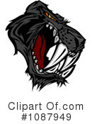Royalty-Free (RF) Panther Clipart Illustration #1087949