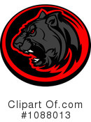 Royalty-Free (RF) Panther Clipart Illustration #1088013