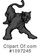Panther Clipart #1097245 by Chromaco