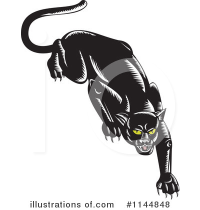 Panther Clipart #1144848 by patrimonio