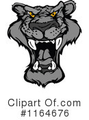 Royalty-Free (RF) Panther Clipart Illustration #1164676