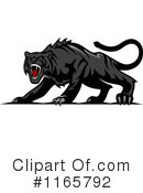 Panther Clipart #1165792 by Vector Tradition SM