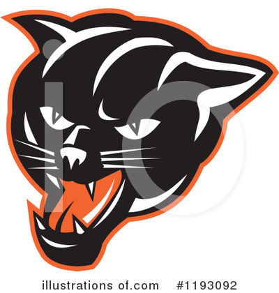 Panther Clipart #1193092 by patrimonio