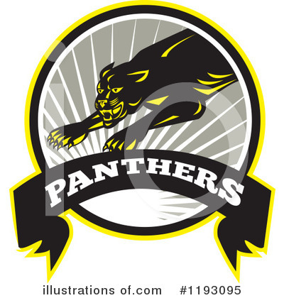 Panther Clipart #1193095 by patrimonio