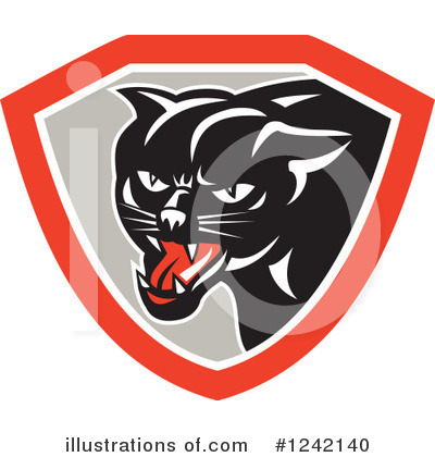 Panther Clipart #1242140 by patrimonio