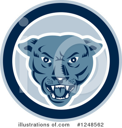 Panther Clipart #1248562 by patrimonio