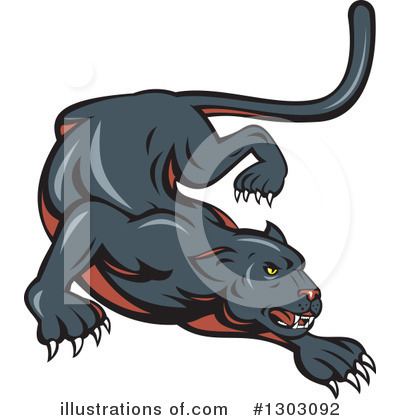 Panther Clipart #1303092 by patrimonio