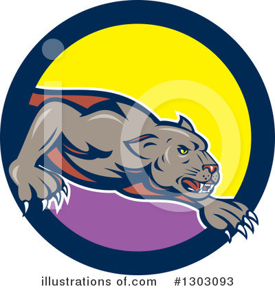 Panther Clipart #1303093 by patrimonio