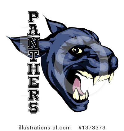 Panther Clipart #1373373 by AtStockIllustration
