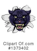 Panther Clipart #1373402 by AtStockIllustration