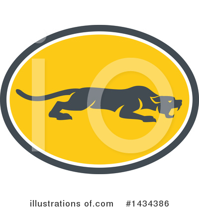 Panther Clipart #1434386 by patrimonio